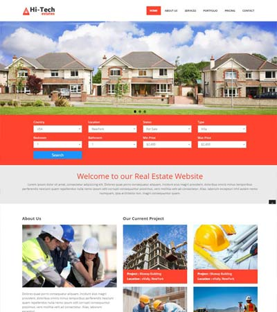 Free Real Estate Templates | Latest Real Estate Website Templates Free Download Webthemez