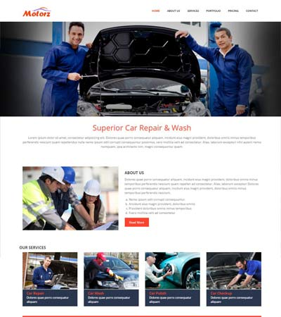 Car-Repair-Free-Bootstrap-Template
