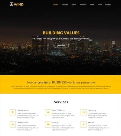 HTML5-Bootstrap-Template