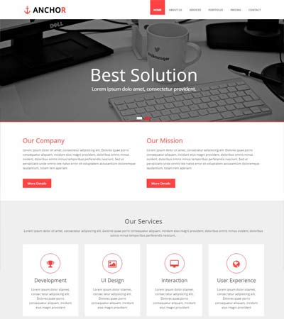 Bootstrap-Multi-purpose-Responsive-Template
