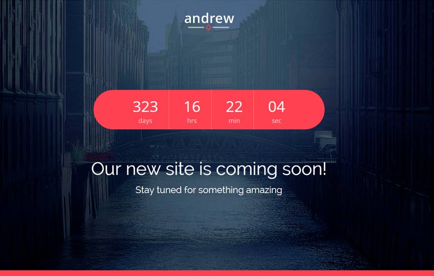 Responsive-Bootstrap-Coming-Soon-Template