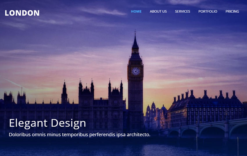 Corporate Bootstrap Responsive Template