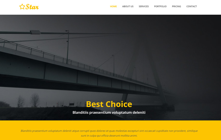 Multi-purpose Responsive Bootstrap Web Template
