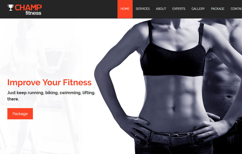 Fitness Gym Html5 Bootstrap Template