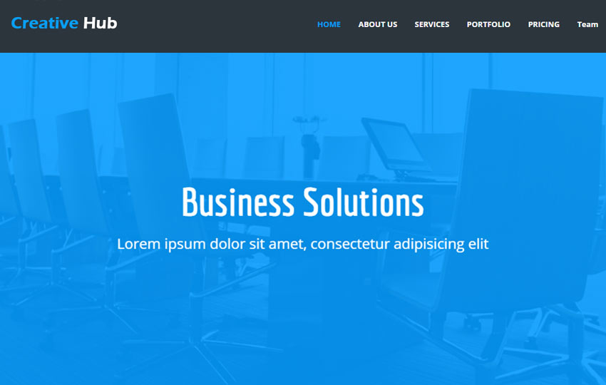 Corporate Free Bootstrap Web Template