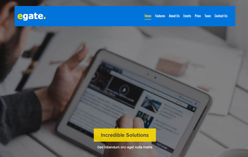Corporate Responsive Bootstrap Web Template