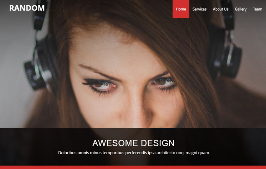 Business Responsive Html5 Bootstrap Web Template