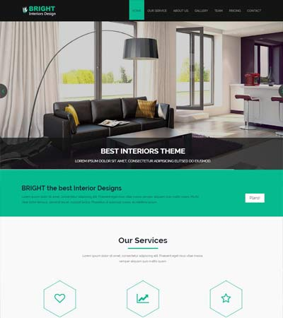 Best Interior Design Website Templates Free Download Classy Interior Design Web Templates