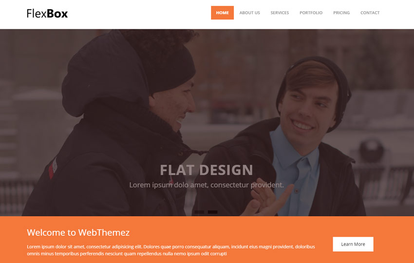 Corporate Free Bootstrap HTML5 Web Template