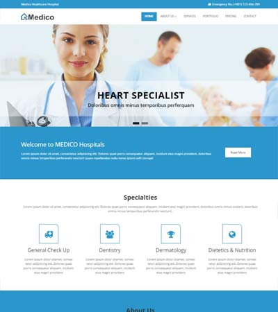 medical-and-health-Free-HTML5-Template
