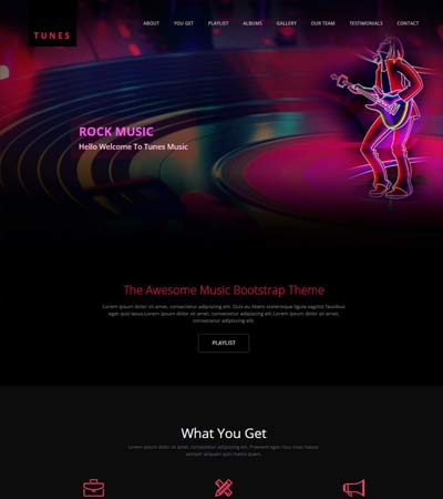 Music-Website-Template-html5-bootstrap