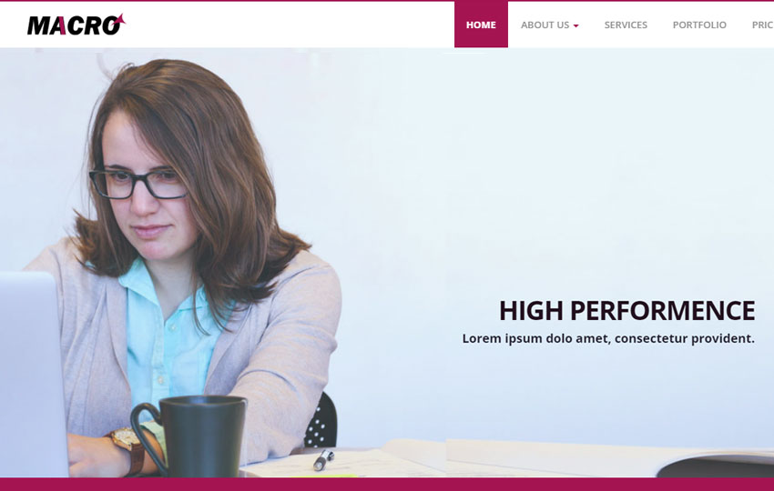 Corporate Business Bootstrap HTML Web Template