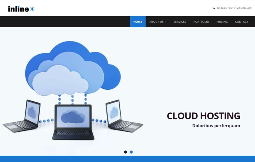 Hosting Responsive HTML Web Template
