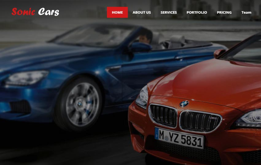 Free Car Repair Html Website Templates Webthemez
