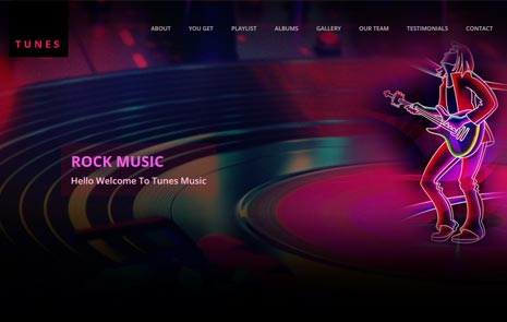 Best Free Music Template