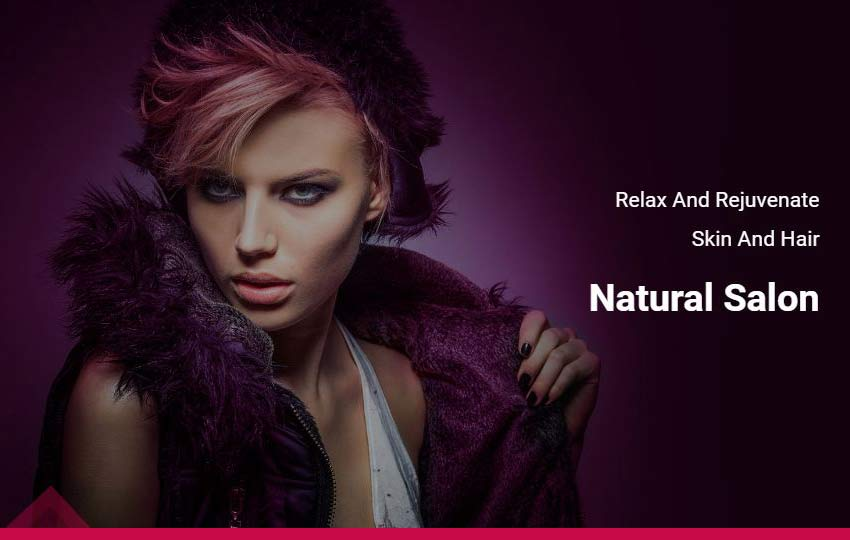 Fashion Beauty HTML Website Template