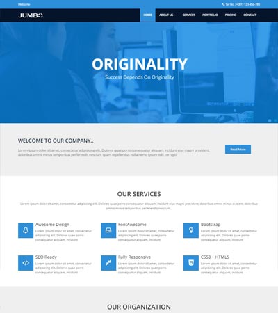 Jumbo-Multi-purpose-Free-HTML5-Template