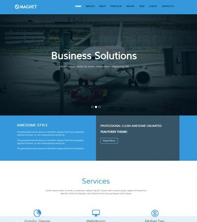 Bootstrap-4-Multipurpose-Website-Template