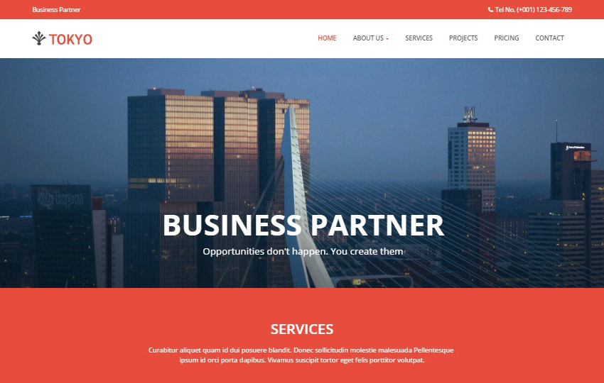 Bootstrap corporate business web template free download bootstrap corporate business web template wajeb Gallery