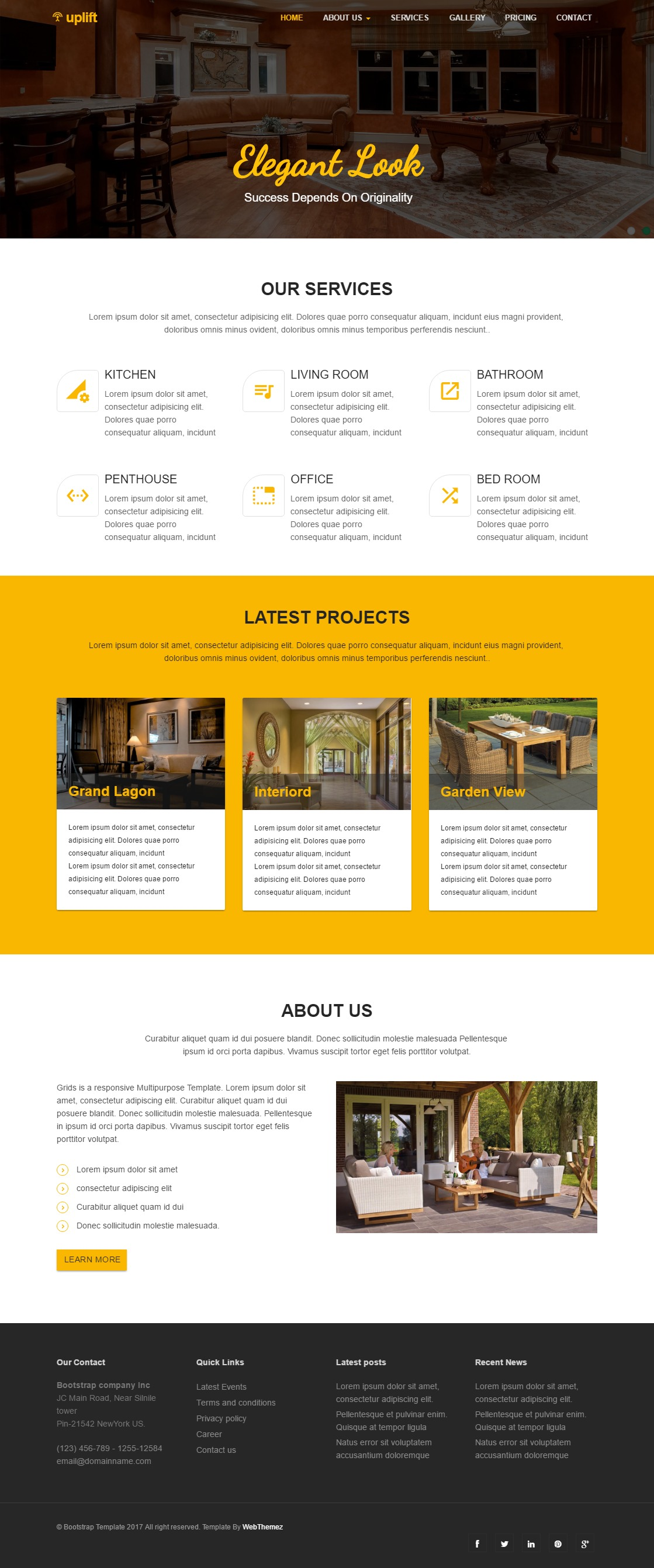 UpLift Multi purpose HTML5 Template