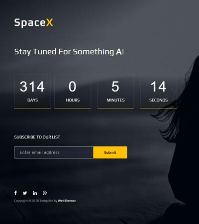 Coming Soon Website Template