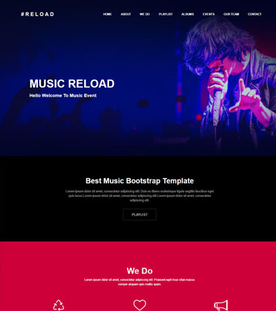Music-Event-Website-Template