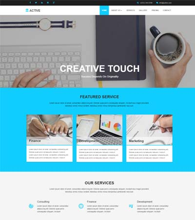 html-corporate-website-template