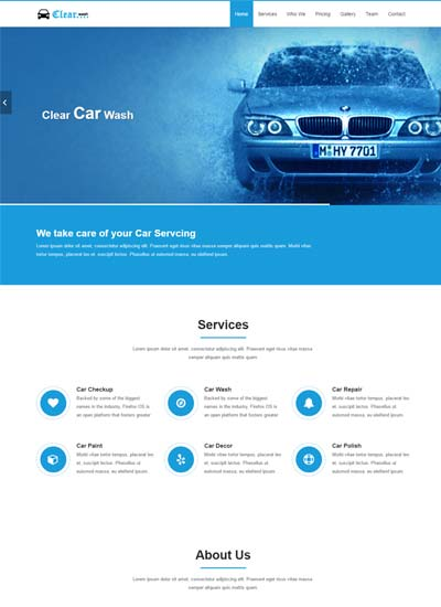 Html Templates | Latest Automobile Website Templates Free Download 2019 Webthemez