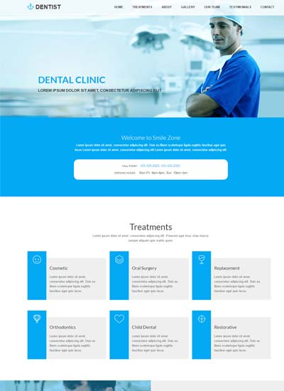Best Dental Clinic HTML Website Template