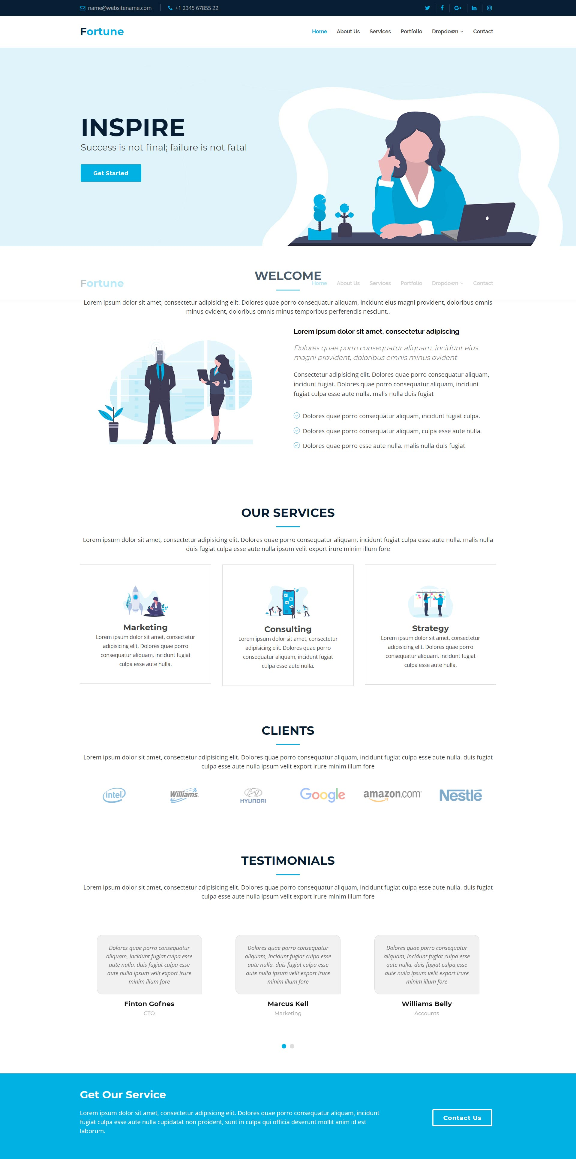 business-bootstrap-html-website