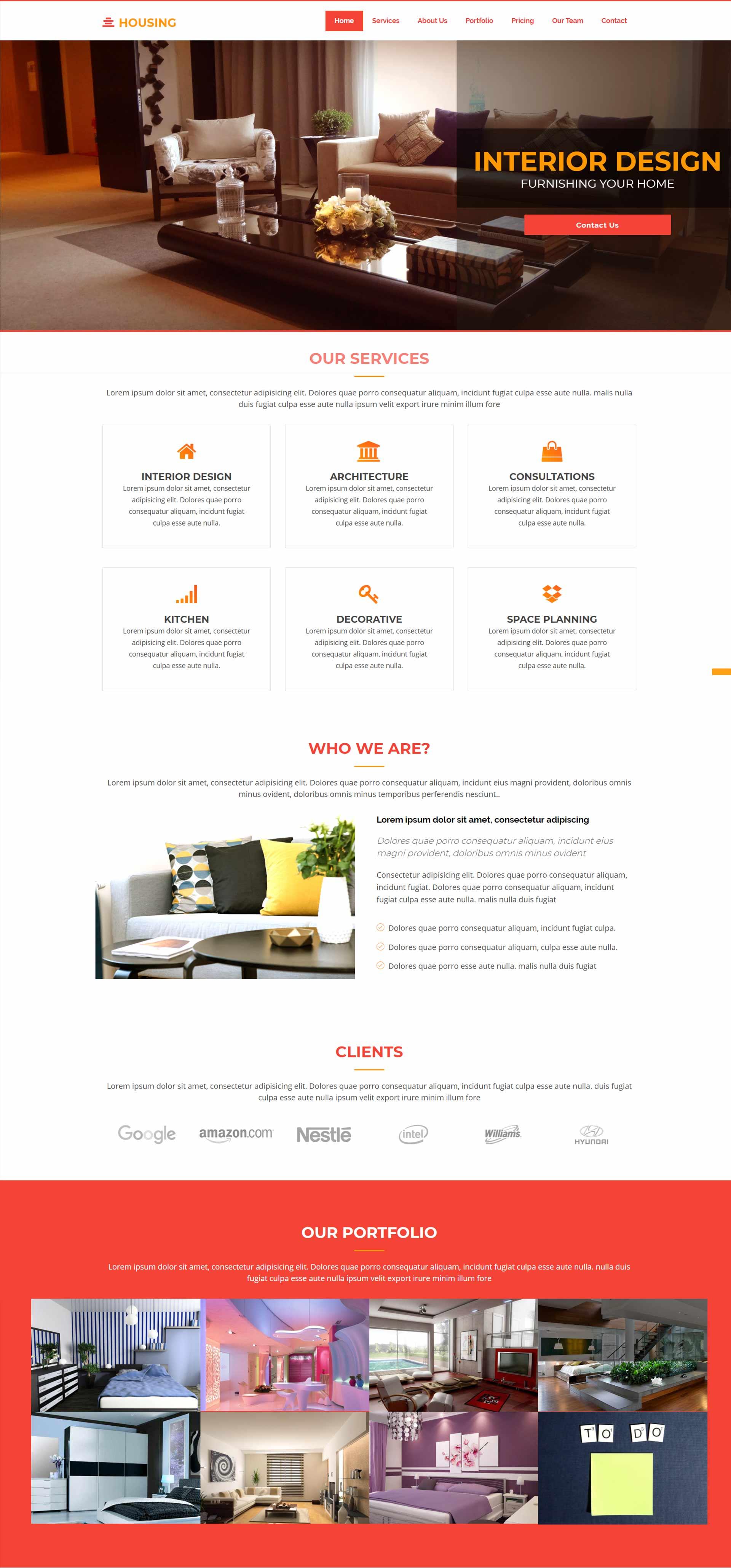 interior-design-bootstrap-template