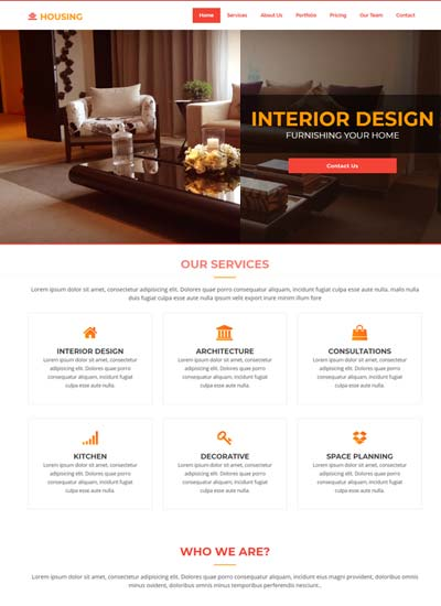 25 Best Interior Design Templates Free Download 2020 Webthemez