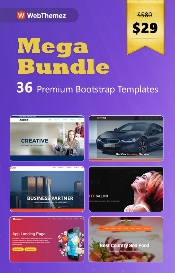 webthemez mega bundle offer