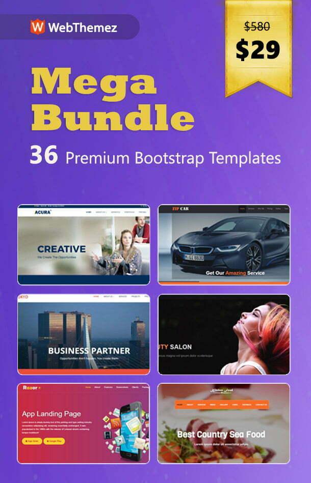 webthemez mega bundle offer