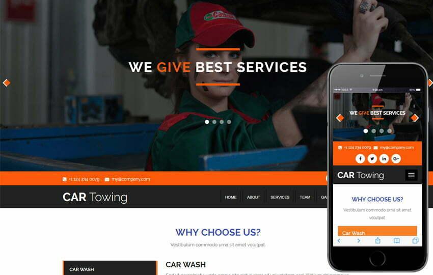 22+ Best Automotive & Car Website Templates Free 2019