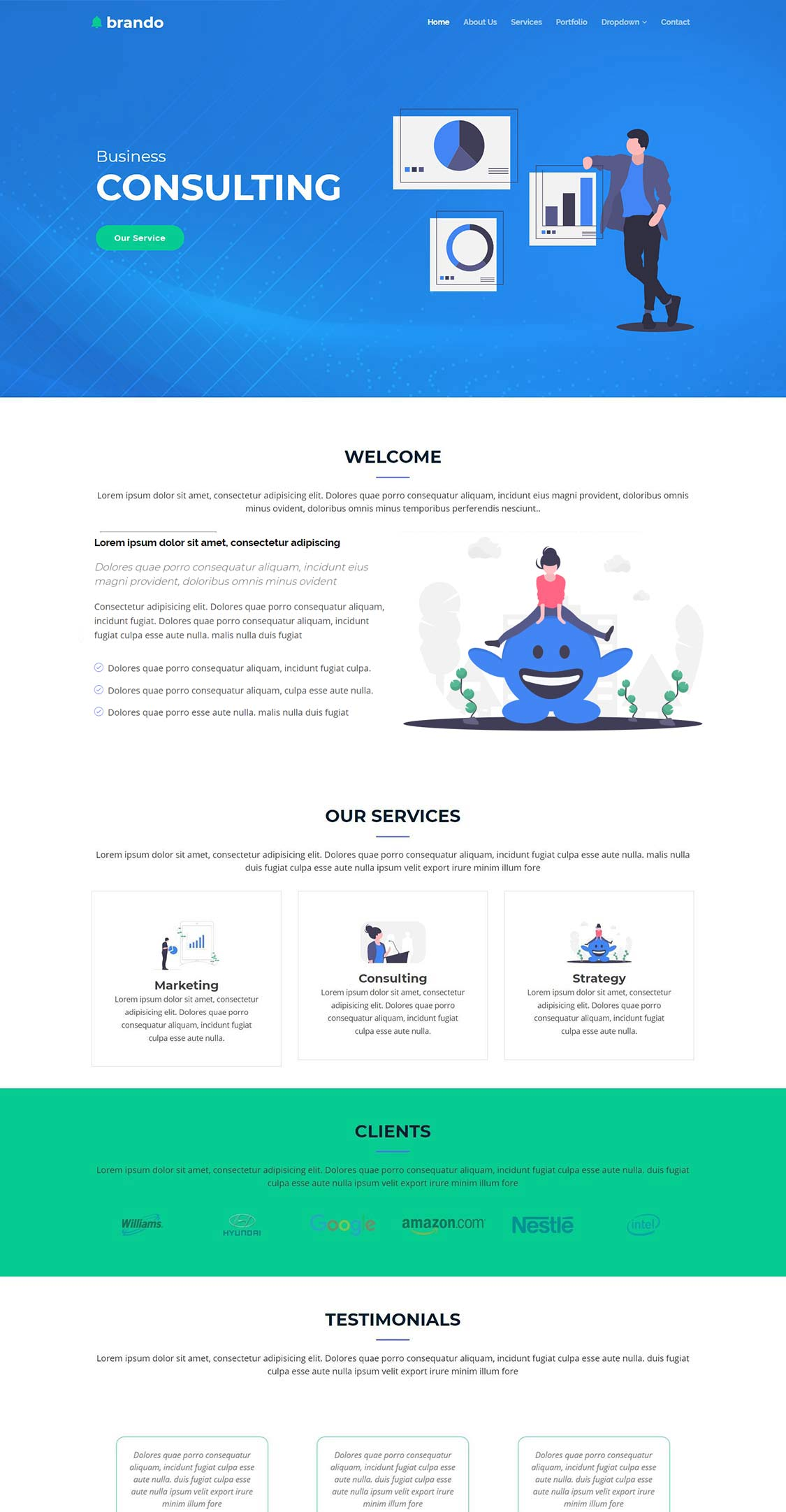 free-corporate-bootstrap-template