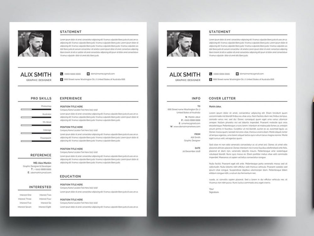 65 best free ms word resume templates 2020