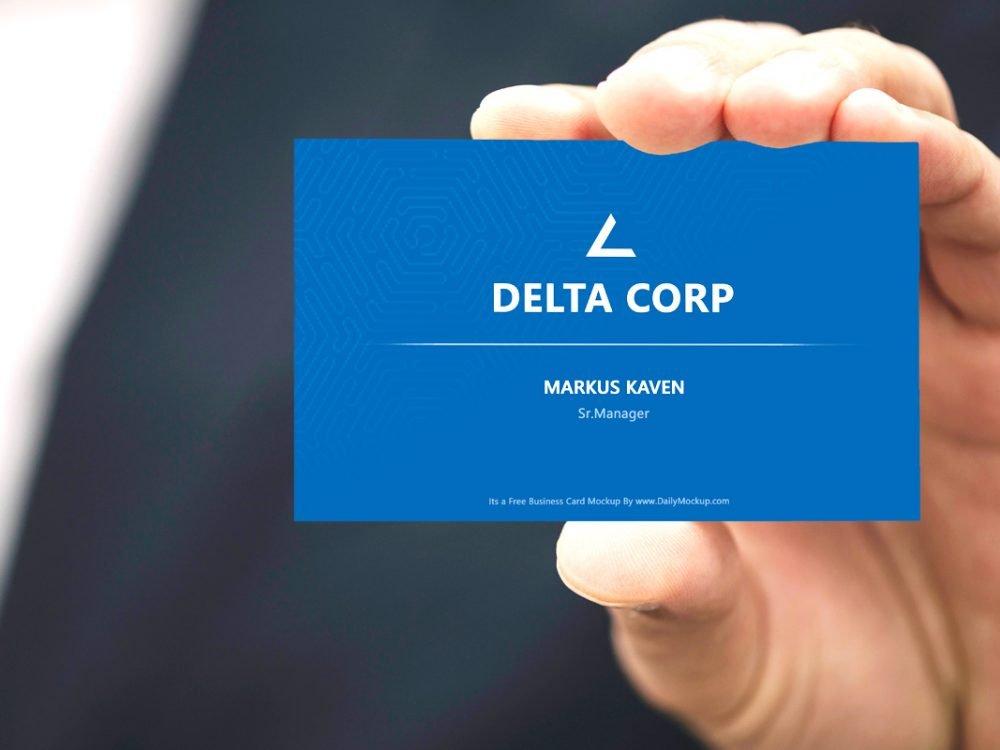 Best Business Cards 2020.28 Best Free Business Card Mockup Templates 2020 Webthemez