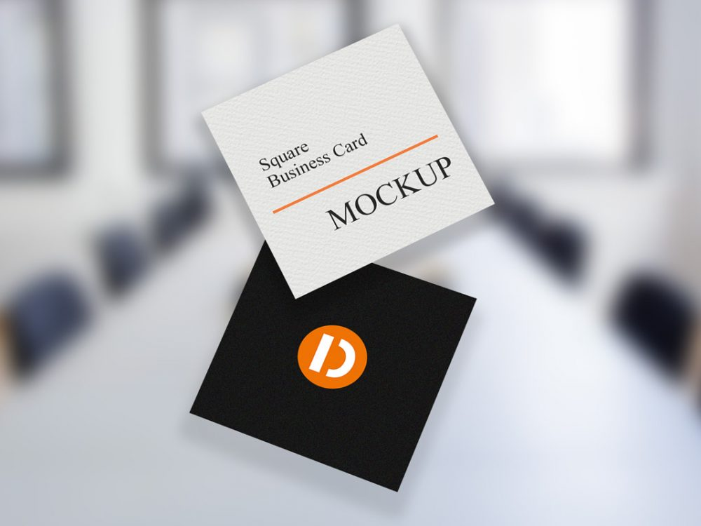 28 Best Free Business Card Mockup Templates 2020 Webthemez