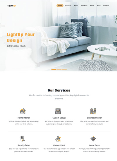 Interior-design-bootstrap-free-template