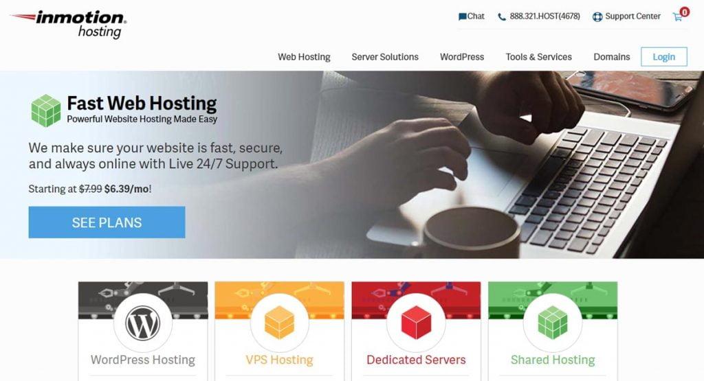 inmotion hosting offer