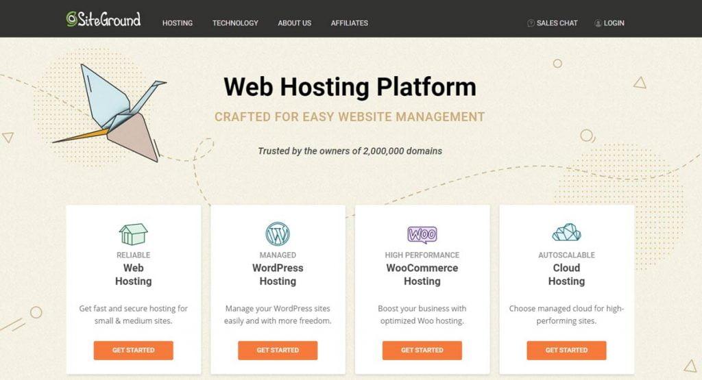siteground hosting offers